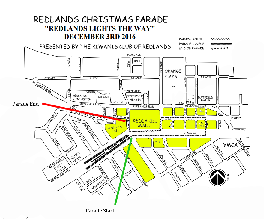 Redlands Christmas Parade 2016